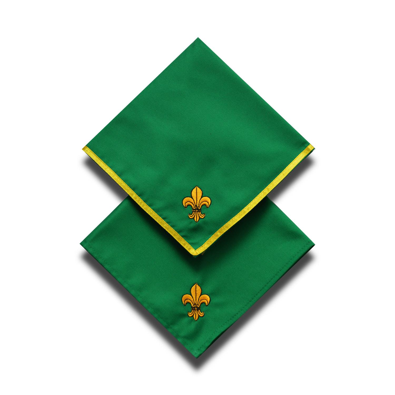 Cserkész nyakkendő - Zöld
