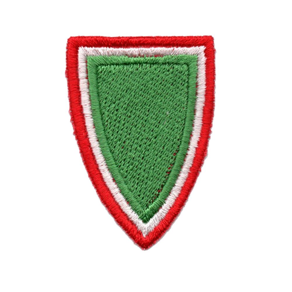 Zöld pajzs jelvény
